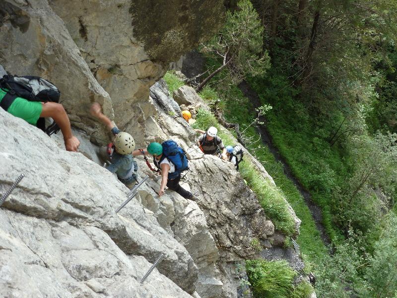 Klettersteig Adelboden : Klettersteig kandersteg alpinschule adelboden