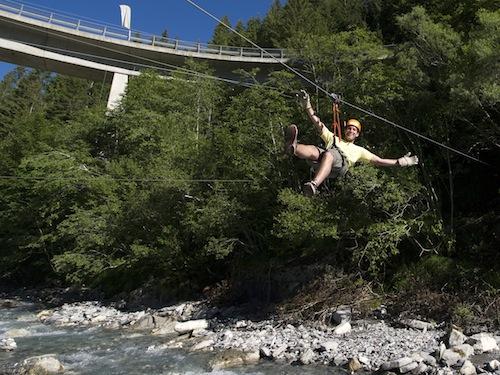 Klettersteig Adelboden : Adventure park adelboden seilpark kletterpark hochseilgarten