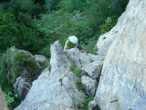 Klettersteig Allmenalp : Klettersteig alpinschule adelboden