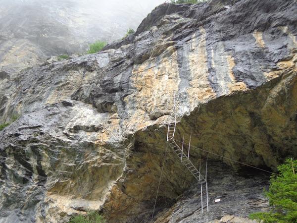 Klettersteig Wimmis : Der graustock klettersteig bergzeit magazin