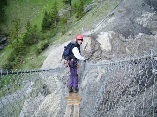 Klettersteig Adelboden : Klettersteig kandersteg allmenalp alpinschule adelboden