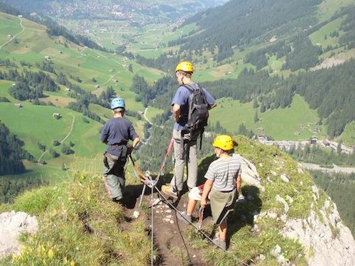 Klettersteig Adelboden : Klettersteig alpinschule adelboden