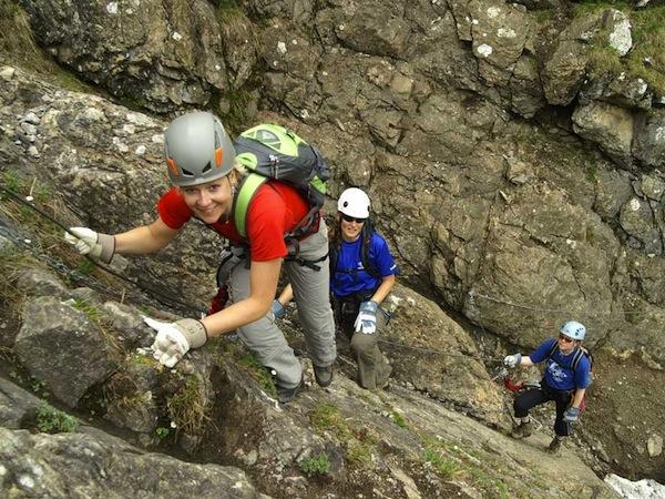 Klettersteig Chäligang : Chäligang engstligenalp alpinschule adelboden